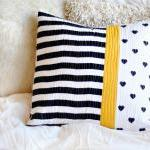 Cushion - Quilted Pillow -..